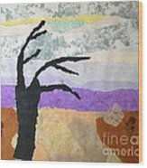 Pipal Tree Wood Print