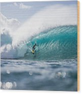 Pipeline Dream Wood Print by Doug Falter