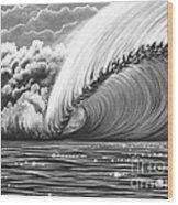 Pipeline Gem Wood Print