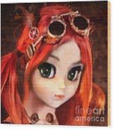 Pippi Wood Print