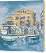 Piran - Tartini Theatre Wood Print