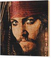 Pirate Life - Rum Sunset Wood Print