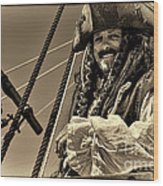 Pirate Wood Print