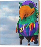 Pirate Parrot Pegleg Pete Wood Print