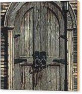 Pirates Door Wood Print