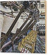 Pirn Winding Machine Wood Print