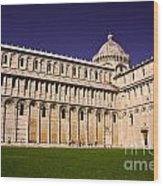 Pisa Cathedral Wood Print