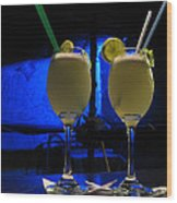 Pisco Sour In Puno Wood Print