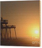 Pismo Beach Pier California 6 Wood Print
