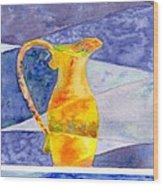 Pitcher 1 Wood Print