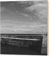 Pitenweem Harbour Wall Wood Print