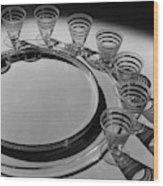 Pitt Petri Tableware Wood Print