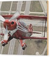 Pitts Special S-2b Wood Print by Larry McManus