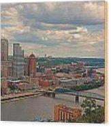 Pittsburgh Pa Wood Print