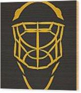 Pittsburgh Penguins Goalie Mask Wood Print