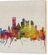 Pittsburgh Pennsylvania Skyline Wood Print