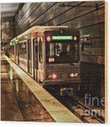 Pittsburgh Subway Wood Print