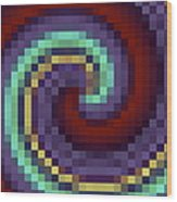 Pixel 1 Wood Print