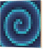 Pixel 4 Wood Print