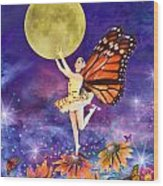Pixie Ballerina Wood Print