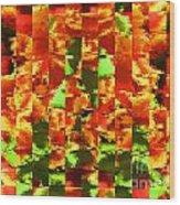 Pixilated 2 Wood Print