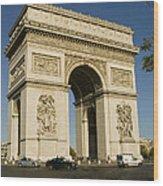 Place Charles De Gaulle Wood Print