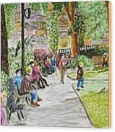 Place Dauphine Wood Print