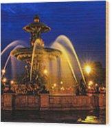 Place De La Concorde Wood Print by Midori Chan