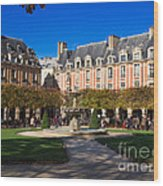 Place Des Vosges Paris Wood Print