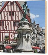 Place Francois Rude - Dijon Wood Print