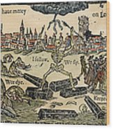 Plague Of London, 1665 Wood Print