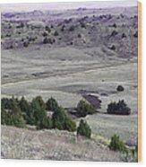 Plains Of Nebraska Wood Print