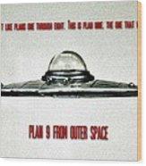Plan 9 Seinfeld Wood Print