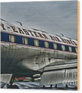 Plane Fly Eastern Air Lines Wood Print