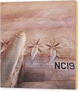 Plane - Pilot - Tropical Getaway Wood Print by Mike Savad
