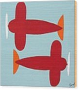 Planes  Wood Print