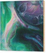 Planet B Wood Print