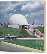 U.s. Air Force Academy Planetarium At Colorado Springs 1961 Wood Print