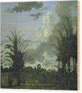 Plantation In Suriname, Dirk Valkenburg Wood Print