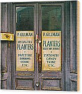 Planters Wood Print
