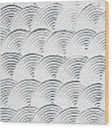 Plaster Pattern Wood Print