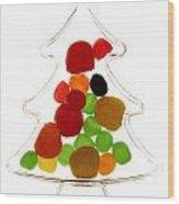 Plastic Christmas Tree Containing Sweet Wood Print