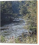 Plate River No 2 Wood Print