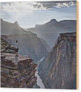 Plateau Point - Grand Canyon Wood Print