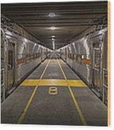 Platform Eight At Union Station Wood Print