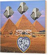 Platinum Ray Wood Print