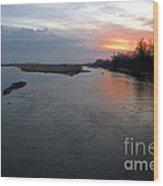 Platte River, Nebraska Wood Print