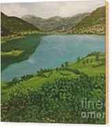 Plav Montenegro  Wood Print
