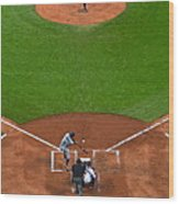 Play Ball Wood Print by Frozen in Time Fine Art Photography