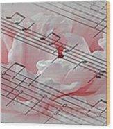 Play It Softly Wood Print
